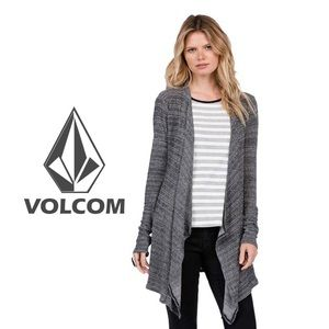 Volcom Women's Lived in Go Sweater Wrap, M